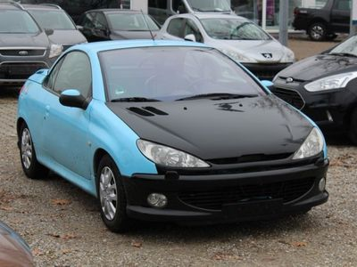 gebraucht Peugeot 206 CC 135 Platinum Klima, Sitzheizung, EFH, EAS