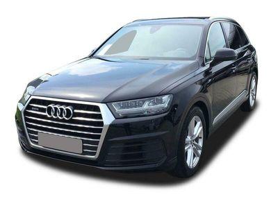 gebraucht Audi Q7 Q750 TDI q. S. Tronic S-Line Sport 3x HD Matrix Navi Touch Head-Up