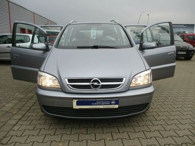 gebraucht Opel Zafira A Njoy mit Style-Paket Navi Klima Dachr. als Kombi in Lüneburg