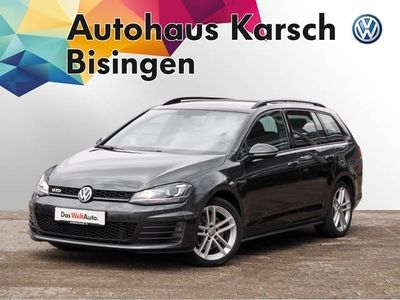 gebraucht VW Golf VII Variant GTD 2.0 TDI DSG AHK, NAVI,