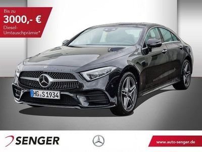 used Mercedes CLS400 d 4MATIC Coupé AMG Line COMAND Memory