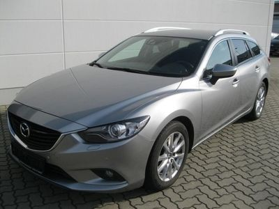 gebraucht Mazda 6 KOMBI 2.2L CENTER-LINE+BI-XENON+AHZV+PDC