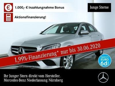 gebraucht Mercedes C220 d 4M Avantgarde Multibeam COMAND SHD Kamera