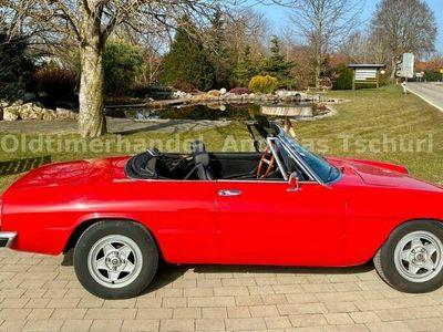 gebraucht Alfa Romeo 2000 Fastback SpiderVeloce- H- Nummer als Cabrio/Roadster in Straßlach-Dingharting (Termin nur nach telef. Vereinbarung)