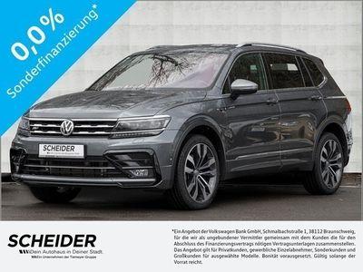 gebraucht VW Tiguan Allspace 2.0 TDI 4M DSG R Line Standhzg. Pano Leder LM20