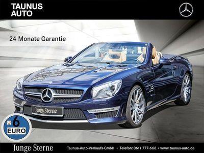 gebraucht Mercedes SL63 AMG AMG-COMAND-B&O-DRIVERS-PACKAGE-UVP 204.500