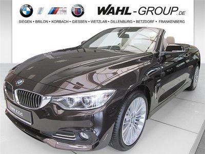 gebraucht BMW 420 d Cabrio Luxury Line Navi Prof. Xenon HiFi