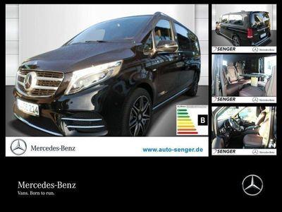gebraucht Mercedes V250 d AMG EXxtralang 4M Nappa LED AHK E-Sitze