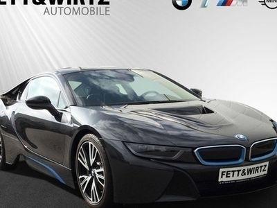 gebraucht BMW i8 20'' LM LED Navi HUD DAB Alarm Sitzhzg.