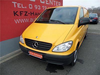 gebraucht Mercedes Vito 115 CDI Lang Kasten 2xSchiebetür+Klima+PDC+SHZ+Tem