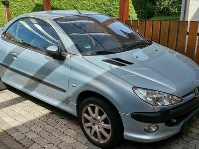 gebraucht Peugeot 206 CC 135 Platinum TÜV 07/2023