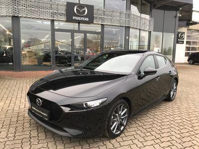 gebraucht Mazda 3 SKYACTIV-G 2.0 M Hybrid Selection Activesense-Paket 18 Zoll Alufelge