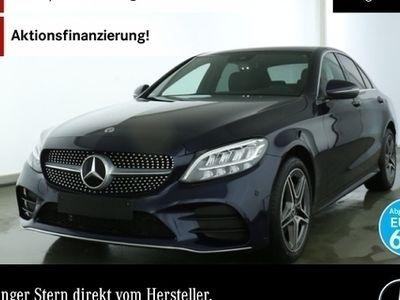 gebraucht Mercedes C300 AMG Burmester LED Keyl-GO Kamera SpurPak PTS