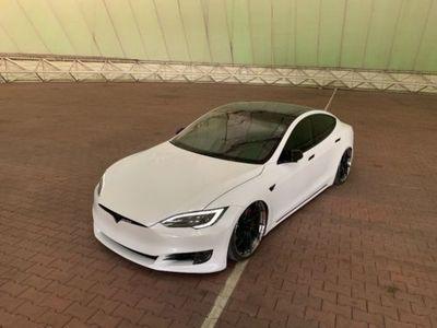 gebraucht Tesla Model S 85D Scenefahrzeug Tuning Airride