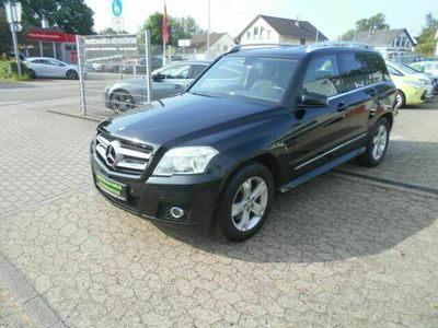 gebraucht Mercedes GLK300 4MATIC NAVI AUTOMATIK TEILLEDER TÜV NEU