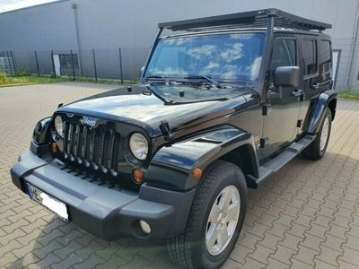 gebraucht Jeep Wrangler Unlimited Hard-Top 2.8 CRD DPF Auto...