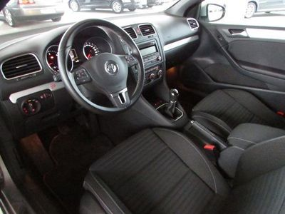 gebraucht VW Golf Cabriolet VI 1.6 TDI PARK ASSIST*TEMP*SHZ