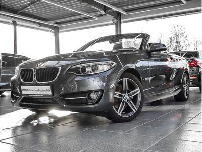 gebraucht BMW 220 2er d Cabrio Sport Line