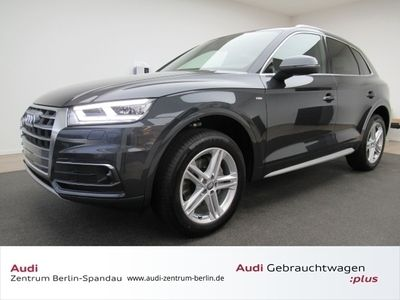 gebraucht Audi Q5 40 TDI quattro S line S tronic *PANO*HUD*AHK*