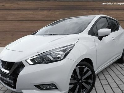 gebraucht Nissan Micra 1.0 IG-T Tekna Navi PDCv+h LED-Tagfahrlicht Multif.Lenkrad RDC Klimaautom SHZ