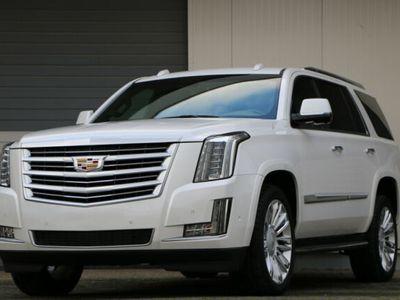 gebraucht Cadillac Escalade Platinum 7Sitzer Fond HUD LED ACC Bose