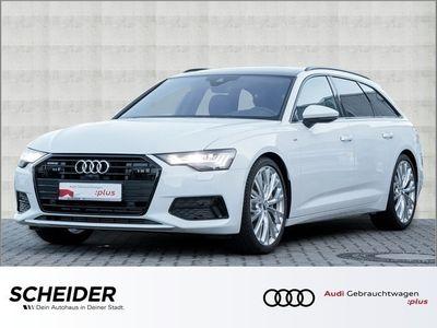 gebraucht Audi A6 Avant 55 TFSI qu S line Navi Pano HD-Matrix HuD