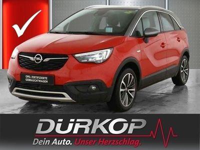 gebraucht Opel Crossland X INNO 1.2 Turbo Panoramadach/LED-Licht/AGR-Sitze/Ka