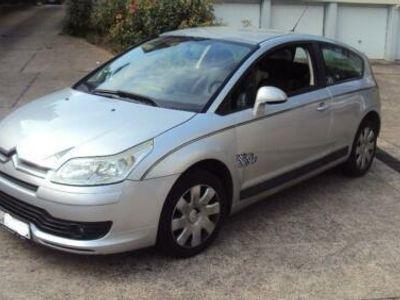 used Citroën C4 Coupe Style 1.6-16V-- 128taus.KM Klima läuft super