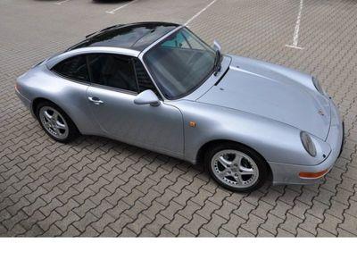 gebraucht Porsche 993 Carrera2 Targa Leder schwarz Originalzustand