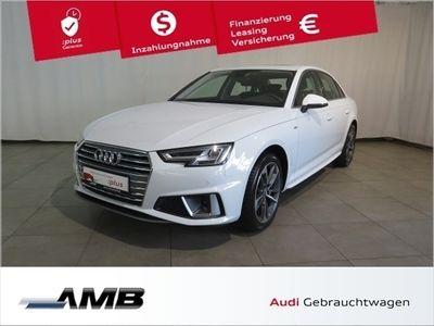 gebraucht Audi A4 sport 40 TFSI S-tr/Navi/18''/S line-Ext./5J.G