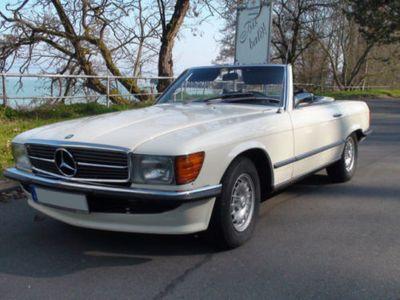 gebraucht Mercedes SL350 R107, H-Zulassung + Hardtop