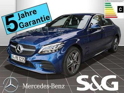gebraucht Mercedes C180 AMG Navi+RüKam+LED+Totwink+Assistenz Paket