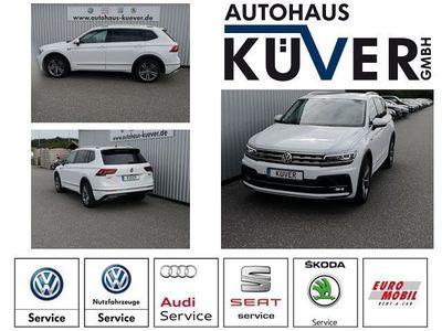 gebraucht VW Tiguan Allspace 2,0 TSI R-Line DSG 4-M Pano AHK