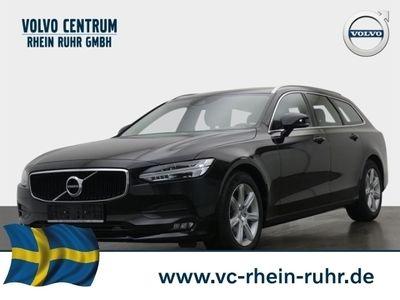 gebraucht Volvo V90 Kombi Momentum D4 Leder LED Navi Kurvenlicht Rückfahrkam.