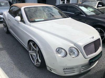 gebraucht Bentley Continental GTC 6.0 W12 4WD *EINZELSTÜCK*MWST*