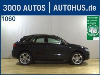gebraucht Audi Q3 2.0 TDI Quattro S-Line Ext. Xenon Adv.Key AHK