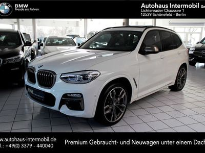 gebraucht BMW X3 M 40 d Sportautomatic *Pano*Leder*LED*H-Up*AHK