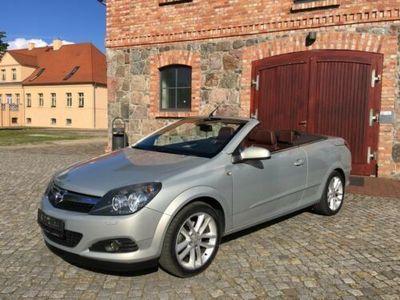 gebraucht Opel Astra Cabriolet Twin Top Leder Klima TüV