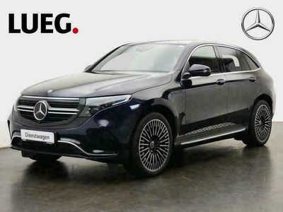 gebraucht Mercedes EQC 400 4M AMG+21''+LEDER+AHK+360°+SHD+FAHRASS