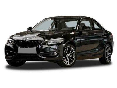 gebraucht BMW 220 d Coupé Sport Line Navi LED Shz Leder Klima -