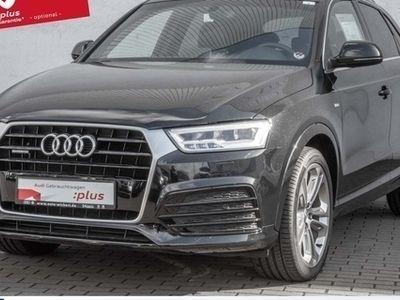gebraucht Audi Q3 Sport 2.0 TDI quattro Tiptronic S line LED/SD