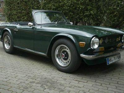 gebraucht Triumph TR6 1970 BRG Overdrive Top Zustand als Cabrio/Roadster in Hamburg