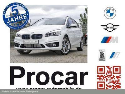 gebraucht BMW 225 Active Tourer xe iPerformance Steptronic Sport Line Navi Automatik HiFi Bluetooth PDC MP3 Schn.