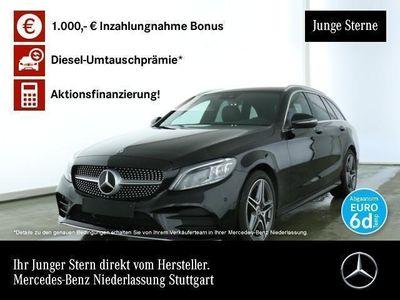 gebraucht Mercedes C300 T AMG Multibeam Keyl-GO Kamera PTS Easy-Pack