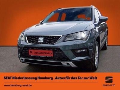 gebraucht Seat Ateca Style 4Drive 2.0 TDI Navi Parklenkass. Allrad PDCv+h LED-hinten LED-Tagfahrlicht