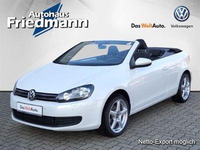 gebraucht VW Golf Cabriolet 1,6 TDI BMT PDC/Klimaauto/Sitzh.
