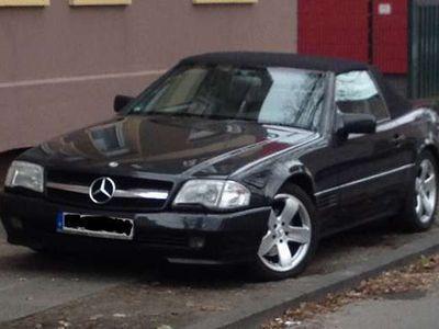 gebraucht Mercedes SL500 11 Jahre im Besitz, viel investiert
