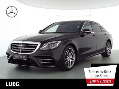 gebraucht Mercedes S400 d 4M Lang AMG+Sitzklima+Chauffeur+Fond-tv als Limousine in Bottrop