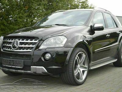 gebraucht Mercedes ML63 AMG AMG 4Matic BI COLOR /NAVI/ESSD/AHK/XENON/