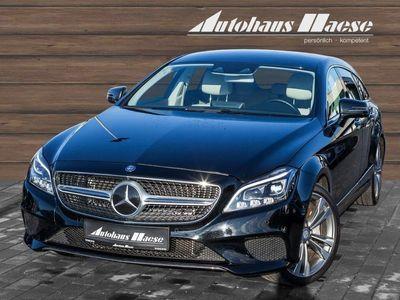gebraucht Mercedes CLS400 Shooting Brake 4Matic Leder LED Navi StandHZG Keyl